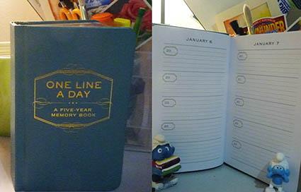 5 year memory book