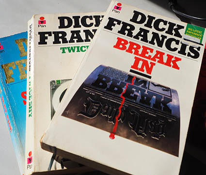 Dick Francis novels